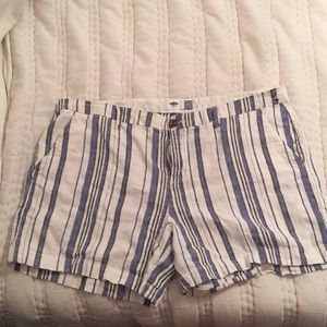 Stripped loose wear shorts